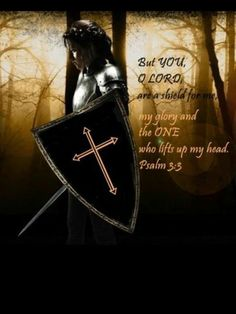 Lord how are they increased that trouble me! Many are they that rise up against me. Many say of my soul, There is no help for him in God. But thou, O Lord, art a shield for me; my glory & the lifter up of mine head. I cried to the Lord and He heard me. I will not be afraid of ten thousands of people, that have set themselves against me round about.  Arise, O Lord; save me, O my God: for YOU have smitten all my enemies. Salvation belongs to GOD & His blessing is upon His people. Psalm 3