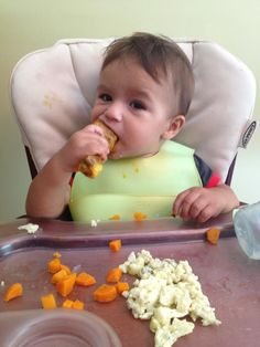 Baby led weaning. What foods to give first!
