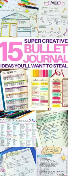 This is EXACTLY what I wanted - amazing bullet journal page ideas! Great ideas f. This is EXACTLY what I wanted - amazing bullet journal page ideas! Great ideas for bujo daily layouts, bill trackers, meal planners, keys, and doodling ideas! Bullet Journal Banners, How To Bullet Journal, Bullet Journal Inspo, My Journal, Journal Prompts, Journal Pages, Bullet Journals, Bullet Journal Layout Daily, Bullet Journal Spending Tracker