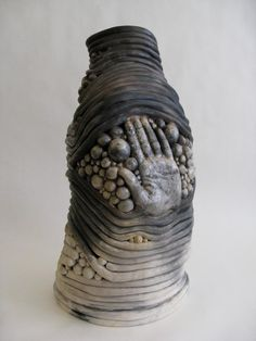 """The Hand Coil Pot"" by Claire Woolard Clay Works"