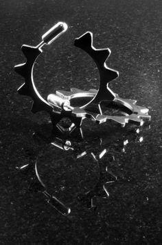 Gearhead Earrings