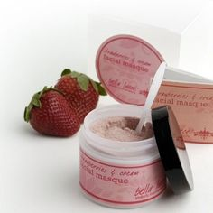 Bella Lucce Strawberries & Cream Masque by Bella Lucce. $16.00. Choose a mixer and blend the masque at home in less than 30 seconds. Apply to the face and neck and allow to remain for 10-15 minutes.. Luscious strawberries blend with Argiletz rose clay and powdered buttermilk to create an amazing facial treatment that softens and renews tired skin as it boosts brightness. The naturally-occurring vitamins in milk strengthen the tissues as fruit acids encourage cell renewal for...