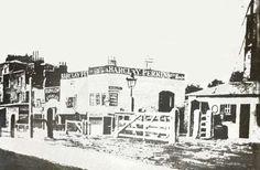 tollgates at the Green Man Pub, Old Kent Road c.1865.