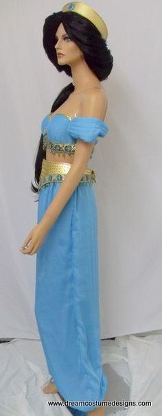 Custom Jasmine Adult Costume by Bbeauty79 on Etsy $899.95  sc 1 st  Pinterest & adult princess costumes | Adult Princess Jasmine Costume Aladdin ...