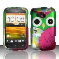 Case HTC desire C  Hibou/ Owl