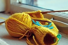 Possible winter hobby. learning how to knit! Learn How To Knit, Arts And Crafts, Learning, Knitting, Winter, Winter Time, Tricot, Studying, Breien