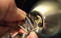 Twist of keys in door-lock