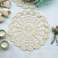İkikız Yuvarlak 6?lı Amerikan Servisi Crochet Cord, Crochet Doily Patterns, Thread Crochet, Love Crochet, Crochet Doilies, Crochet Flowers, Crochet Lace, Crochet Placemats, Crochet Storage