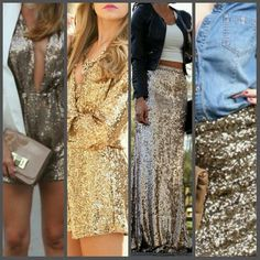7 Ways To Wear Sequin Outfits in Day & Night