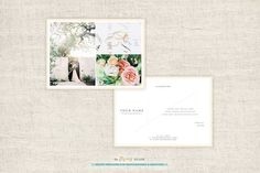 Photography Thank You Card Template by theFlyingMuse on @creativework247