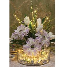 Do you like this flower? Add fairy lights, make it special... https://www.amazon.com/dp/B01LWTYVF6