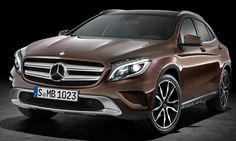 Mercedes-Benz GLA je kompaktní dynamické SUV