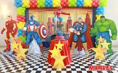 Marvel - Muita Festa Decorações