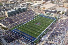 H.A. Chapman Stadium in Tulsa plays host to the 2012 Football Championship game featuring UCF and Tulsa.  Tulsa last hosted this event in 2008.