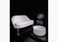 Salon two seater sofa by Lee Broom