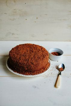 A recipe for Brooklyn Blackout Chocolate Cake, adapted from London& famous Hummingbird Bakery. Baking Recipes, Cake Recipes, Dessert Recipes, Sweet Recipes, Vegetarian Chocolate, Chocolate Recipes, Brooklyn Blackout Cake, Chocolate Custard, Chocolate Cake