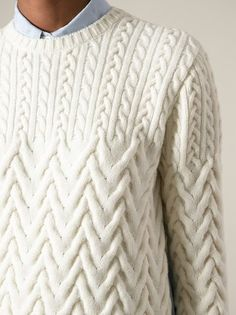 Nº21 cable knit sweater