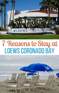 Are you planning a vacation to San Diego, California with your family? If so, there are seven reasons to stay at Loews Coronado Bay.