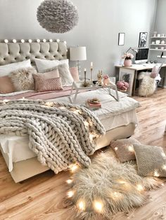 Januar: Mach dein Schlafzimmer bereit für den Winter für noch mehr Gemütlichkeit.
