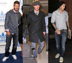 Fashion inspiration: David Beckham