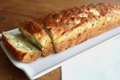 Fresh herb and feta bread Greek Cooking, Easy Cooking, Cookbook Recipes, Cooking Recipes, Healthy Snaks, Cooking Cake, Healthy Snacks For Kids, Savoury Cake, Greek Recipes