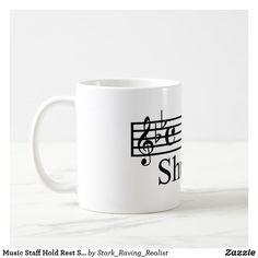 Shut Up Piano Music Coffee Mug