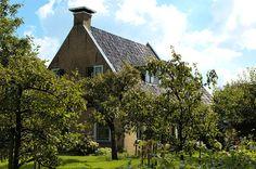 Voorhuis van boerderij, Molenweg 1 in Burgum. Rijksmonument. Foto: Andrys Stienstra