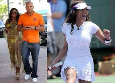 celebrities that play tennis | Photos of Mel B in Bikini and Playing Tennis at Sony Ericsson Open in ...