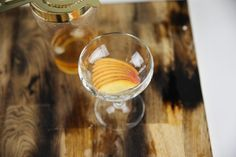 Peach Bourbon Ice Pop Cocktail
