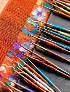 Kleurtjes weven