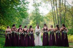 Bridal Party Portrait Friends Forever