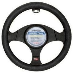 This memory foam steering wheel cover is amazing. I have had rheumatoid arthritis nearly 20 years and 4 joints replaced. It makes driving safer and more comfortable. $12.99