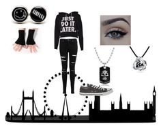 """""""Untitled #20"""" by i-might-be-crazy ❤ liked on Polyvore featuring Miss Selfridge, Converse, xO Design and Bling Jewelry"""