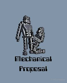 Mechanical Proposal Robots, Proposal, It Works, Lego, Sci Fi, Science Fiction, Robot, Nailed It, Legos
