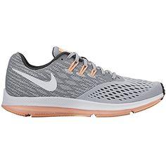 the best attitude e683f f0ff0 Amazon.com   Nike Women s Zoom Winflo 4 Running Shoe Grey   Road Running. Nike  KengätNike ZoomJuoksukengätKäsilaukut