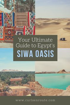 This is the ultimate guide to one of Egypt's hidden gems, the Siwa Oasis in the Western Desert. The guide covers everything you need to know about one of Egypt's underrated destinations. #thisisegypt #siwaegypt #siwaoasisegypt #siwa #egyptitinerary #thingstodoinegypt