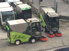 #Spazzatrice stradale serie Green Machines 636 di #Tennant