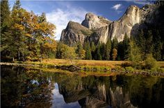 Yosemite in The Fall. I am planning a trip in October.