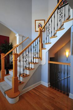 Iron Spindles For Interior Stairs Interior Wrought Iron