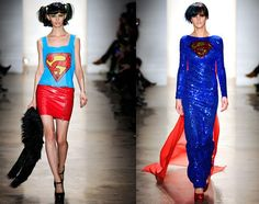 Great Scott! Be super from day to evening with these Jeremy Scott designs.