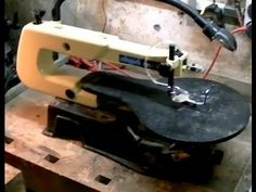 ▶ Repairing a Scroll Saw - YouTube