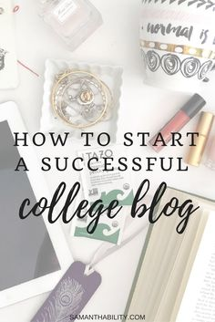 Have you ever wanted to start a college blog? Here are some tips for setting up your college blog, and being successful!
