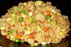 Rice Cooker Fried Rice- would be easy to make this healthy!