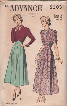 Vintage lifestyle 1940's: Fashion ideas to steal from your grandma's closet!