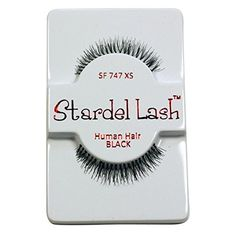 6 Pairs Stardel 747XS 100% Human Hair False Eyelashes Like Ardell Red Cherry Lashes -- See this great product. (This is an affiliate link and I receive a commission for the sales)