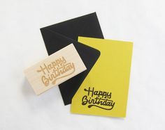 birthday stamp // scout's honor co