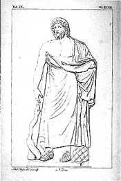 Hippocrates Image courtesy of the Blocker History of Medicine Collections, Moody Medical Library, Univ. Texas Med. Branch, Galveston 460-379 B.C. - Hippocrates discusses epilepsy as a disturbance of the brain  460-379 B.C. - Hippocrates states that the brain is involved with sensation and is the seat of intelligence