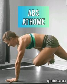 Abs at home workout routine. This fat burning routine will strengthen your core and tone your abs. Abs at home workout routine. This fat burning routine will strengthen your core and tone your abs. Fitness Workouts, Best Core Workouts, Fitness Motivation, Yoga Fitness, At Home Workouts, Mens Fitness, Shape Fitness, Physical Fitness, Sixpack Workout