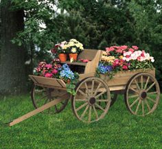 Buckboard Wagon Woodworking Plan --this company offers plans for several types of wagons and also offers a wagon parts kit