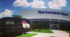 """Lights, camera, and action! We're geared up and ready to go for the VIP Grand Opening of the Container Store in Orlando! Our Tampa and Orlando team are working together to produce this event and we can't """"contain"""" our enthusiasm and excitement!"""